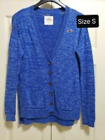 New HOLLISTER Women's Sweater/Cardigan Blue Size Small