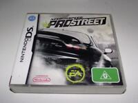 Need for Speed Prostreet Nintendo DS 2DS 3DS Game *No Manual*