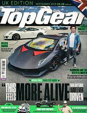 NEW! BBC TOP GEAR UK 247 September 2013 Porsche 911 GT3 Hammond Sesto Elemento