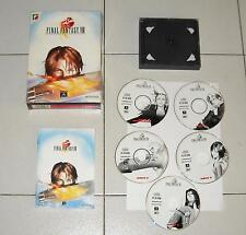 Gioco Pc FINAL FANTASY VIII 8 in Box 5 Cd + manuale ITALIANO OTTIMO