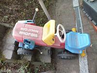 kinder Traktor Spielzeug Tretfahrzeug Kindertraktor Abholung PLZ 48329 Havixbeck
