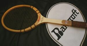 "Vintage ""BANCROFT"" Players Special Wood Tennis Racquet"