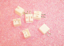 QTY (100)  B2B-PH-K-S JST 2 POSITION TOP ENTRY HEADERS 2mm PITCH  WHITE 2 PIN