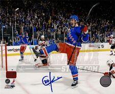 Chris Kreider New York Rangers Signed Autographed 16x20 Goal Celebration