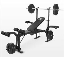 Multifunction Fitness Equipment Sit Up Bench Adjustable Board Barbell Rack