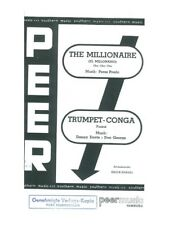 The Millionaire Trumpet Conga Salon Orchestra Learn to Play MUSIC BOOK Orchestra