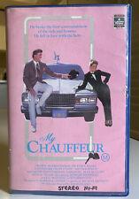 My Chauffeur [VHS] RCA Hoyts Video 1986 Deborah Foreman Sam Jones Big Box Tape!