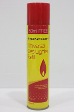 Quality Ronson Lighter Gas Butane Refill ,300ml (1 Bottle)