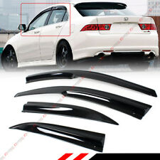 FOR 2004-2008 ACURA TSX CL8 EURO-R JDM 3D WAVY WINDOW VISOR SUN SHADE RAIN GUARD