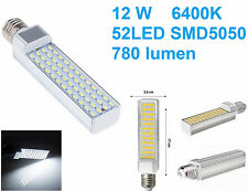 Lampada LED E27,luce bianca,12W,bianco freddo,lampadina faretto RH1126 6400K SMD