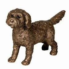 More details for frith sculpture  sparky  cockapoo standing  -  bronze  - boxed new