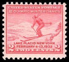 Scott # 716 - 1932 - ' Ski Jumper '