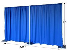 8'  6-20' Backdrop Stand Kit Photography Frame Wedding Party Decoration No Drape