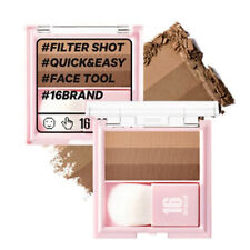 [CHOSUNGAH 16BRAND] Filter Shot ALMOND 3 Shades Contouring Shading Palette 7g