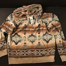 Denim & Supply Ralph Lauren NWT men's XL SOUTHWESTERN TERRY HOODIE
