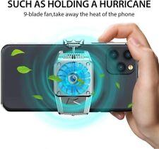 Mobile Phone Refrigeration Bracket Super Silent Rapid Portable Cooling FAN UK