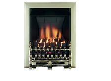 Focal Point Blenheim style multi flue Brass effect Gas Fire