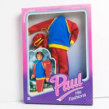 NRFB 1987 Vintage Hasbro Sindy outfit Paul JUMP INTO ACTION