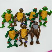 TMNT Donatello Splinter Michelangelo Raphael Lot Teenage Mutant Ninja Turtles