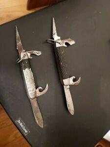 Vintage Pocket Knives - Imperial USA Kamp King & Sabre Camping Knife