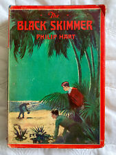 The Black Skimmer 1929 Book by Philip Hart Saalfield Pub - Adventure and Mystery
