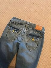 Ladies True Religion Becky Boot Cut jeans stretch 27