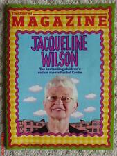 THE OBSERVER MAGAZINE JACQUELINE WILSON COVER NEW TWITTER STINNEY JR BLAHNIK