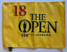 2022 British Open Flag st. andrews 150th logo the open pin flag pga golf new