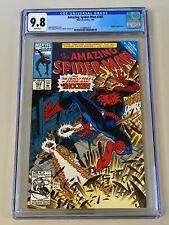 Amazing Spider-Man #364 (1992) CGC 9.8 NM/M Shocker Appearance