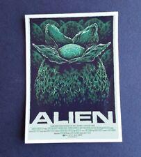 Etiqueta engomada de película de película S443 Alien Huevo, Laptop, Pared, libro, teléfono, tablet