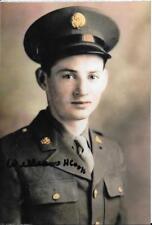 BILL COOK 101ST AIRBORNE 501 PIR D-DAY,MARKET GARDEN VETERAN RARE SIGNED PHOTO
