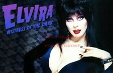 ELVIRA 80s 90s Poster TV Movie Photo Poster |24 by 36 inch| 1