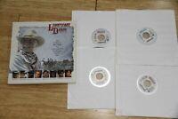 Lonesome Dove Box Set Laserdisc 4 LD NM Condition 367 min + documentary Duvall