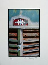 """AL KNIGHT A Study of an Old Truck """"Grill"""" S/N Art Photography"""