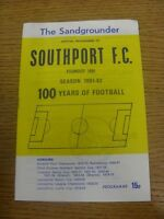 04/11/1981 Southport v Prescot Cables [Liverpool Senior Cup] .  Thanks for viewi