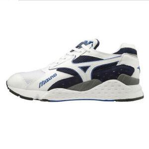 Mizuno Mondo Control Unisex Sneakers Outdoor White Peacoat NWT D1GA201114