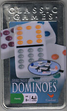 DOUBLE TWELVE  COLOR DOT MEXICAN TRAIN DOMINOES by CARDINAL- STARTER,TRAINS