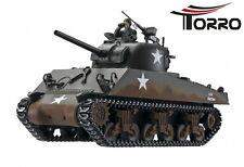srRC 1:16 Panzer Sherman M4A3 Profi-Edition IR Version Torro RC 1:16 Panzer