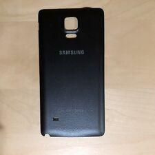OEM Samsung Galaxy Note 4 IV Back Door Battery Cover Black