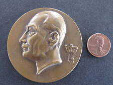 1946 Docteur Georges Oury large Medal Medallion Josse Lambert Dubors