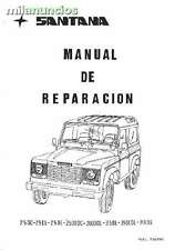 Manual De Reparación Land Rover Santana serie 3 (pdf o CD)