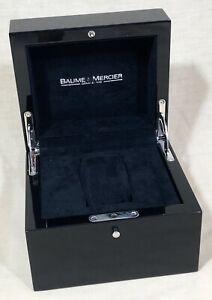 BAUME & MERCIER Watch Box Hampton Spirit Capeland Classima Worldtimer Baumatic /