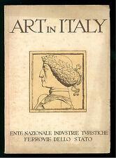 ENIT FERROVIE DAMI LUIGI ART IN ITALY ANNI '30