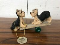 The Leonardo Collection Yorkshire Terrier See Saw Lesser & Pavey