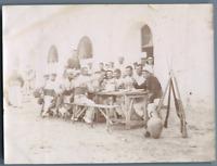 Tunisie, Caserne de l'Arsenal à La Goulette - 15e Cie Vintage citrate print