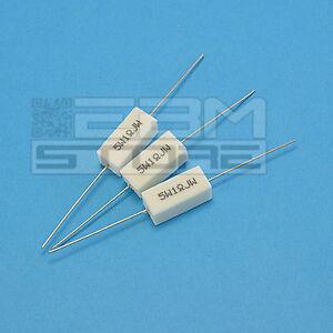 3 pz Resistenza ceramica 5W 1 ohm resistenze - ART. HL02