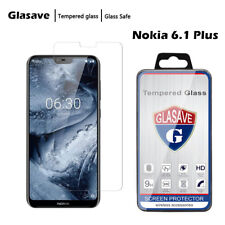 Clear HD Tempered Glass Screen Protector Cover For Nokia 6.1 Plus / X6 2018
