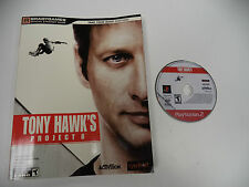 Tony Hawk's Project 8 (Sony PlayStation 2) PS2 Game w/ STRATEGY GUIDE