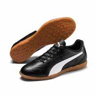 Puma Fußball Monarch IT Fußballschuhe Herren schwarz weiß