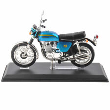 1/12 Motorcycle Vehicle Model Honda Dream CB750 Four Diecast Blue Motorbike Toy